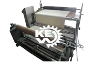 Liner-fabric-re-rolling-machine
