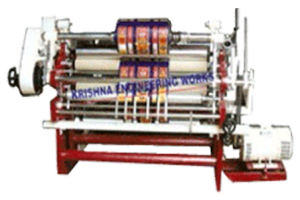 Plastic-film-slitting-rewinding-machine