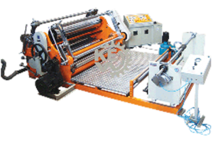 Polyester-film-slitting-rewinding-machine