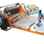 Easy stackable Film Slitter Rewinder Machine